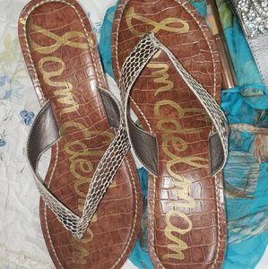 🌼Sam Edelman🌼 platform thong sandals